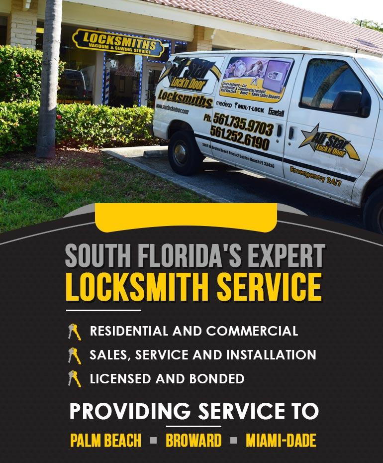 All Star Lock'n Door :: Locksmith Service - Car Lockout - 24